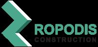 Εταιρεία Ανακαινίσεων - Γυψοσανίδες - Ψευδοροφές Ropodis Construction Sticky Logo
