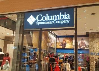 Διακόσμηση Καταστήματος Columbia στο The Mall Athens