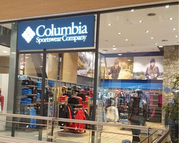 Ανακαίνιση Καταστήματος Columbia στο The Mall Athens