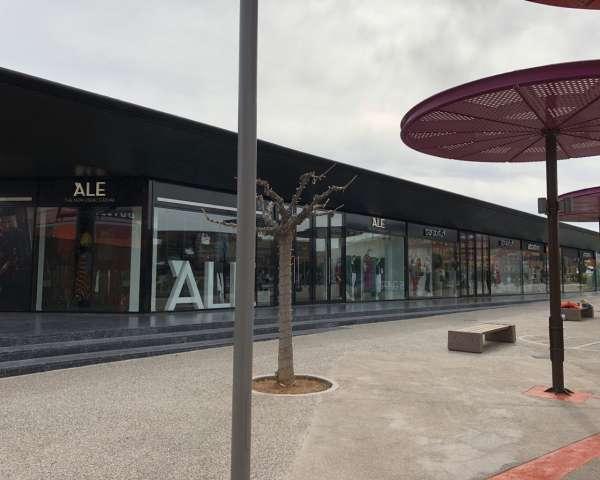 Διαμόρφωση Εξωτερικών Χώρων Νέου Καταστήματος Ale στο Smart Park