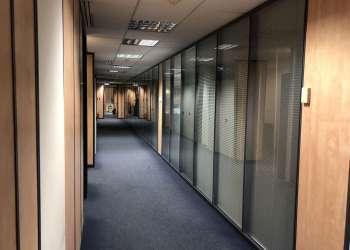Κατασκευή Χωρισμάτων Αλουμινίου σε γραφεία Ideal Standard