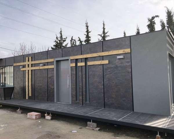 Εφαρμογές Εξωτερικής Δόμησης σε container